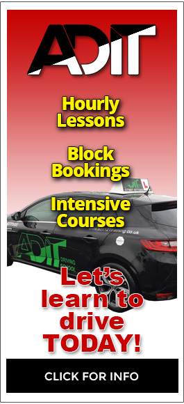 ADIT Driving School in Pinner - Hourly Lessons, Block Bookings, Intensive Courses
